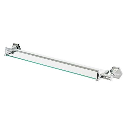 "6-024RD - Sterlingham Craftmaster 24"" Glass Shelf with Guardrail"